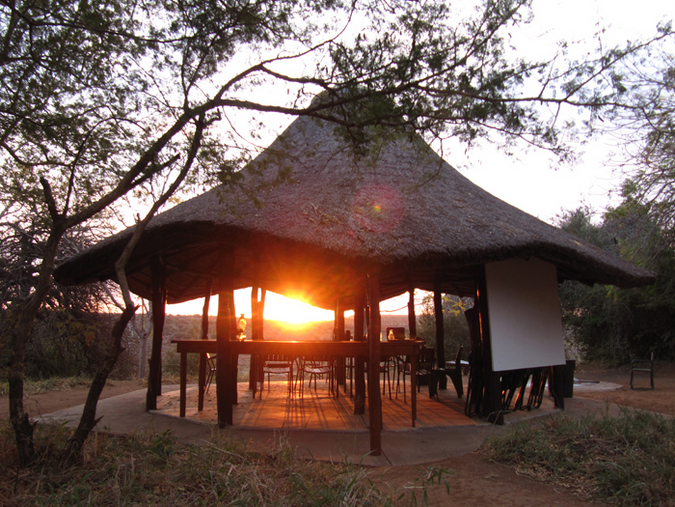 Lapa at a trails camp in the Kruger