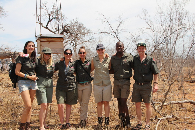 Journeys with Purpose: The Rise of the Matriarch expedition crew with Elephants Alive