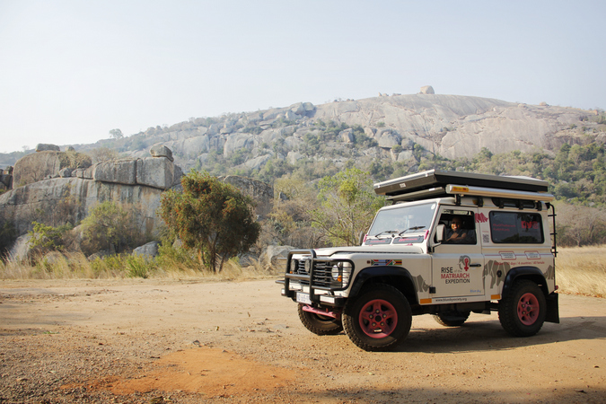 Journeys with Purpose: The Rise of the Matriarch expedition vehicle