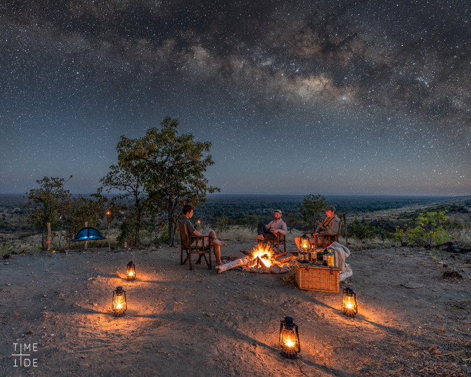 Sleep out under the stars in Zambia
