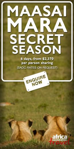 Maasai Mara Secret Season