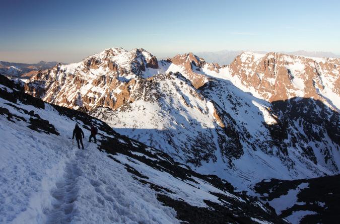 Mount Toubkal, Atlas Mountains, Morocco