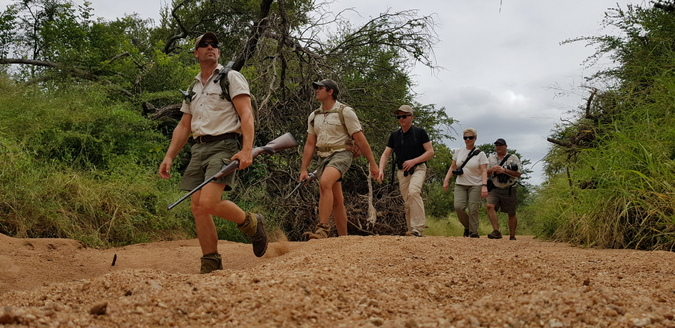 Walking safaris in Greater Kruger during April
