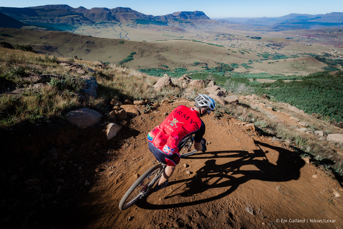 mountain bike racer, joberg2c
