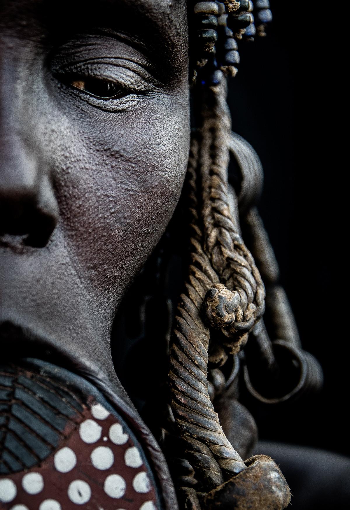 A Mursi woman in Omo Valley, Ethiopia © Janet Regan