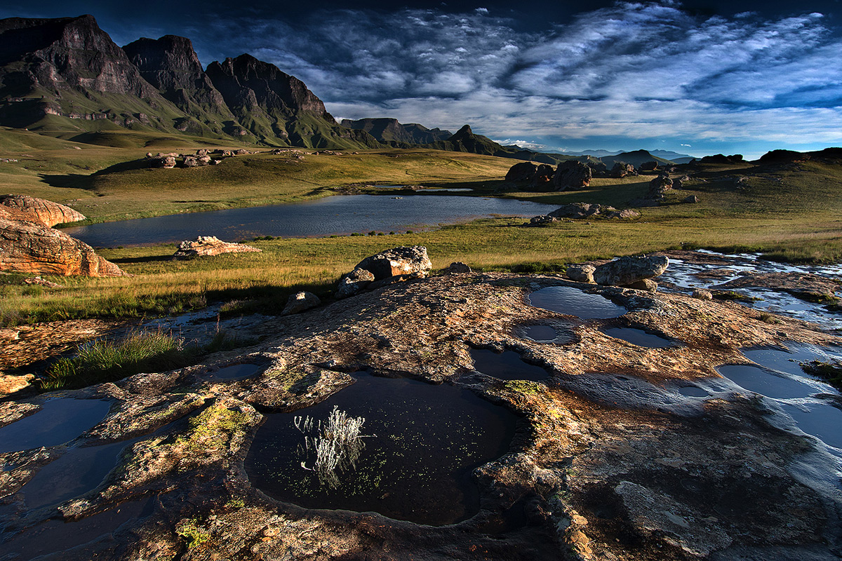"""After the rains"" in Sehlabathebe National Park, Lesotho © Koos Fourie"