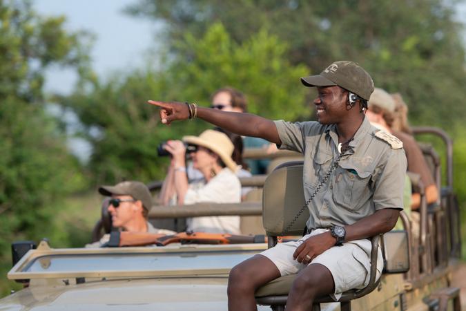 Themba, tracker at Sausage Tree Safari Camp