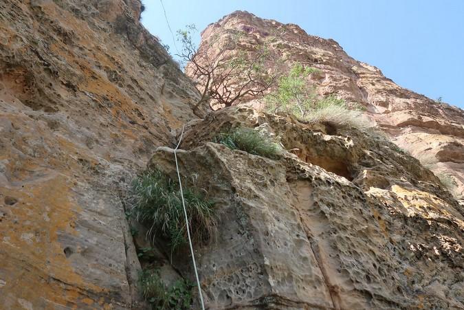 Climbing up to Abuna Yemata Guh, Tigray region, Ethiopia © Erika Atienza