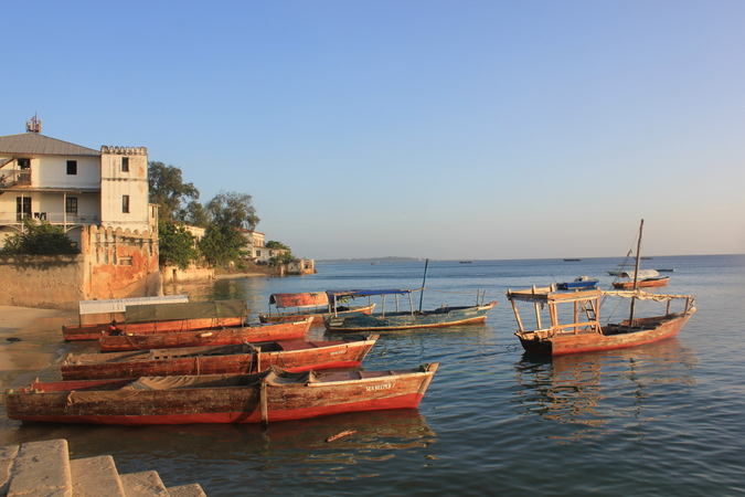 Stone Town boats
