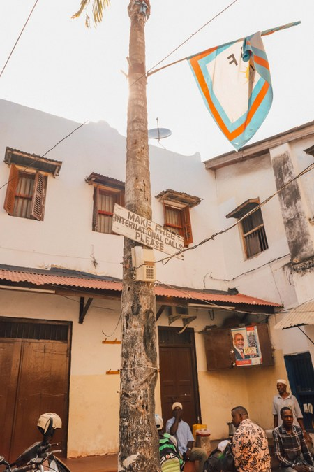 Jaw's Corner in Stone Town, Zanzibar