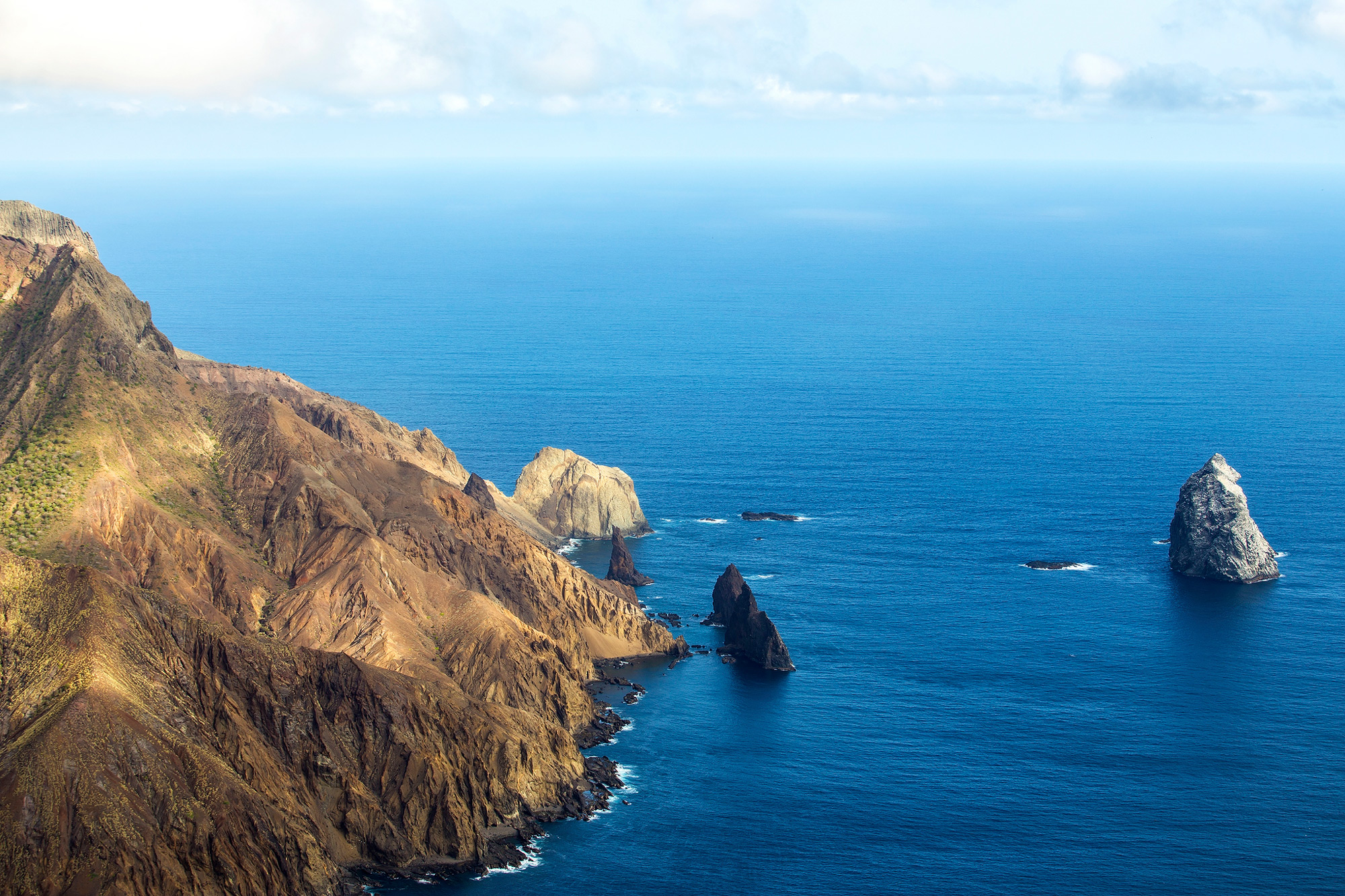 View from elevated position on St. Helena Island