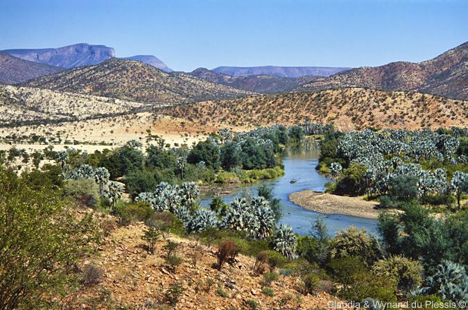 The Kunene River, Namibia