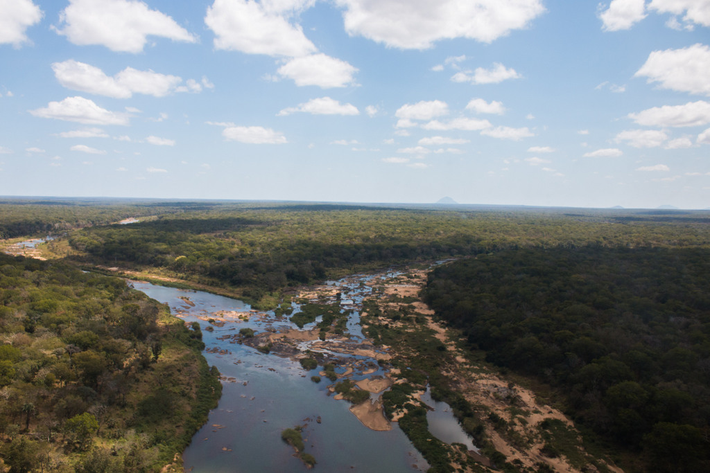 River in Gilé National Reserve in Mozambique