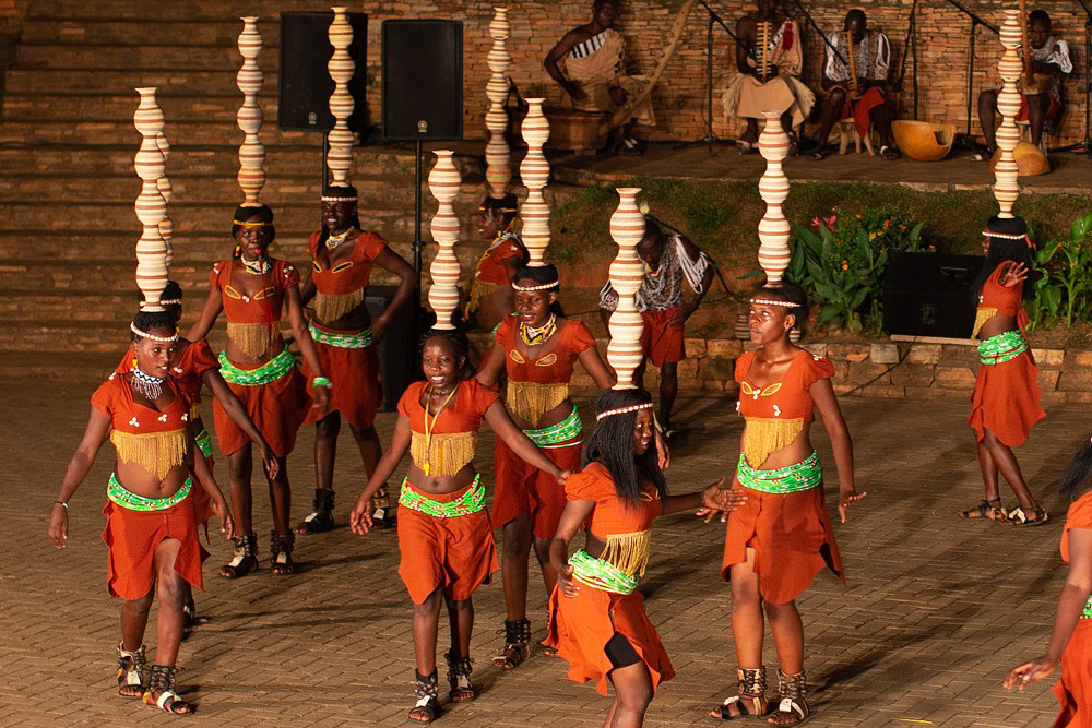 Dancers at the Ndere Cultural Center