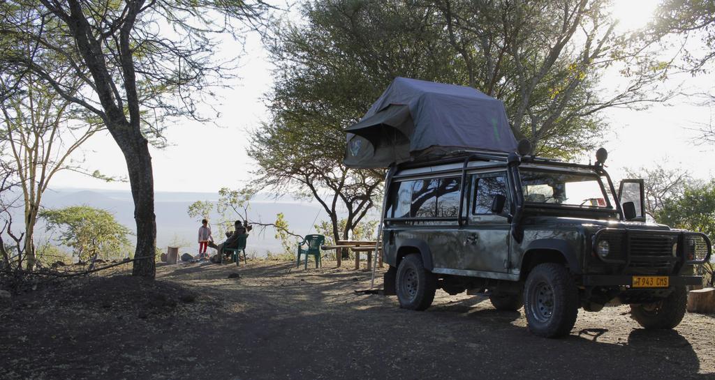 Campsite at a Maasai village in Tanzania