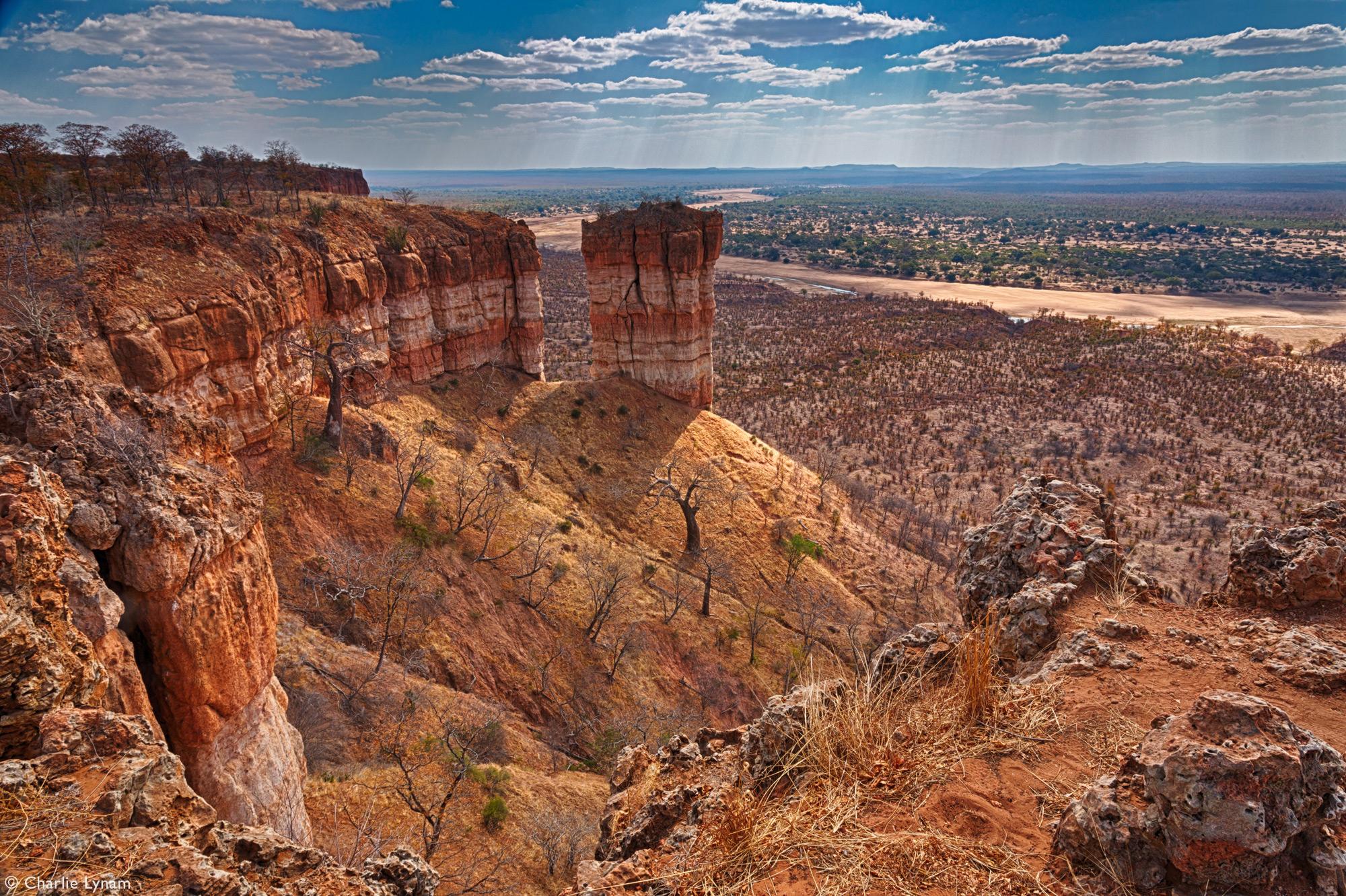 Chilojo cliffs lookout inGonarezhou National Park, Zimbabwe