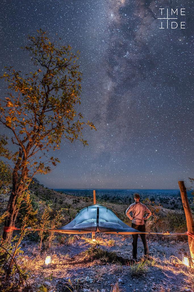 Sleepout under the stars in Lower Zambezi, Zambia