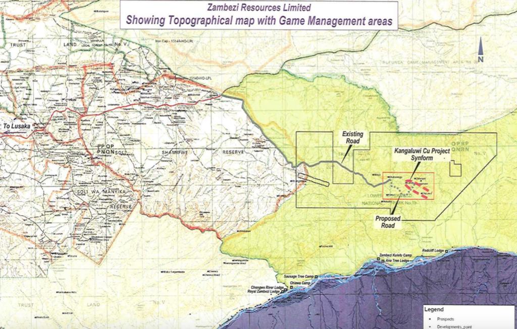 Lower Zambezi copper mine