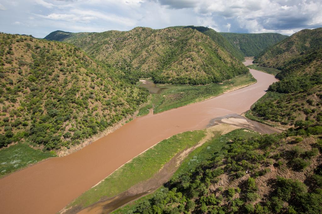 River in Matusadonha National Park, Zimbabwe