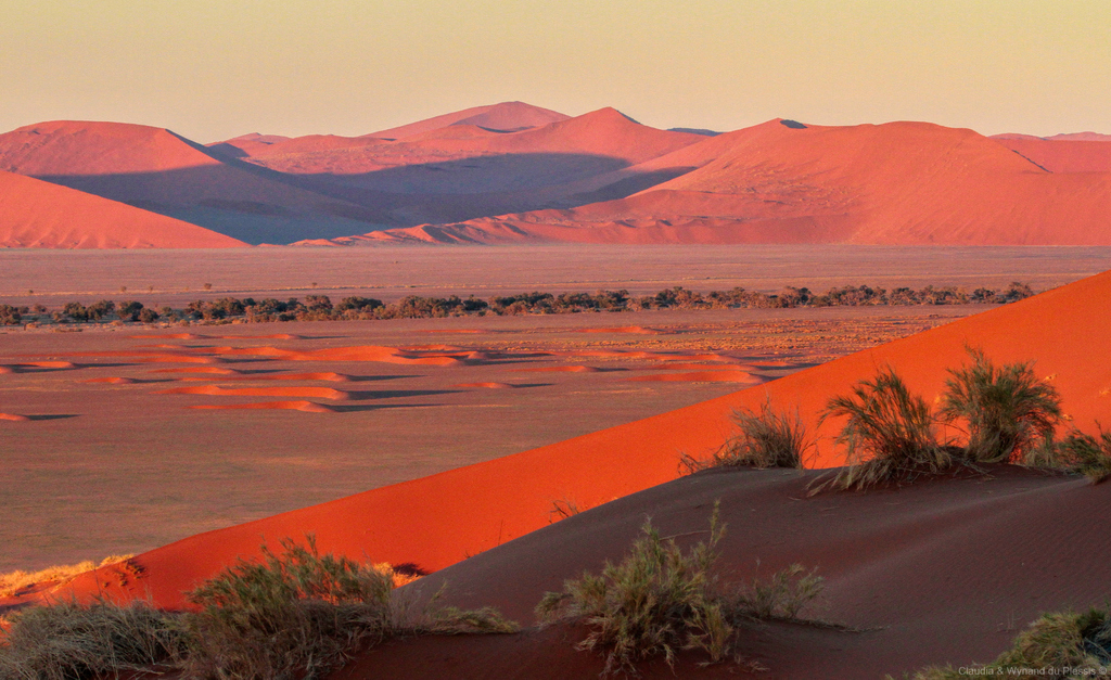 Sunrise in Namib Desert, Namibia
