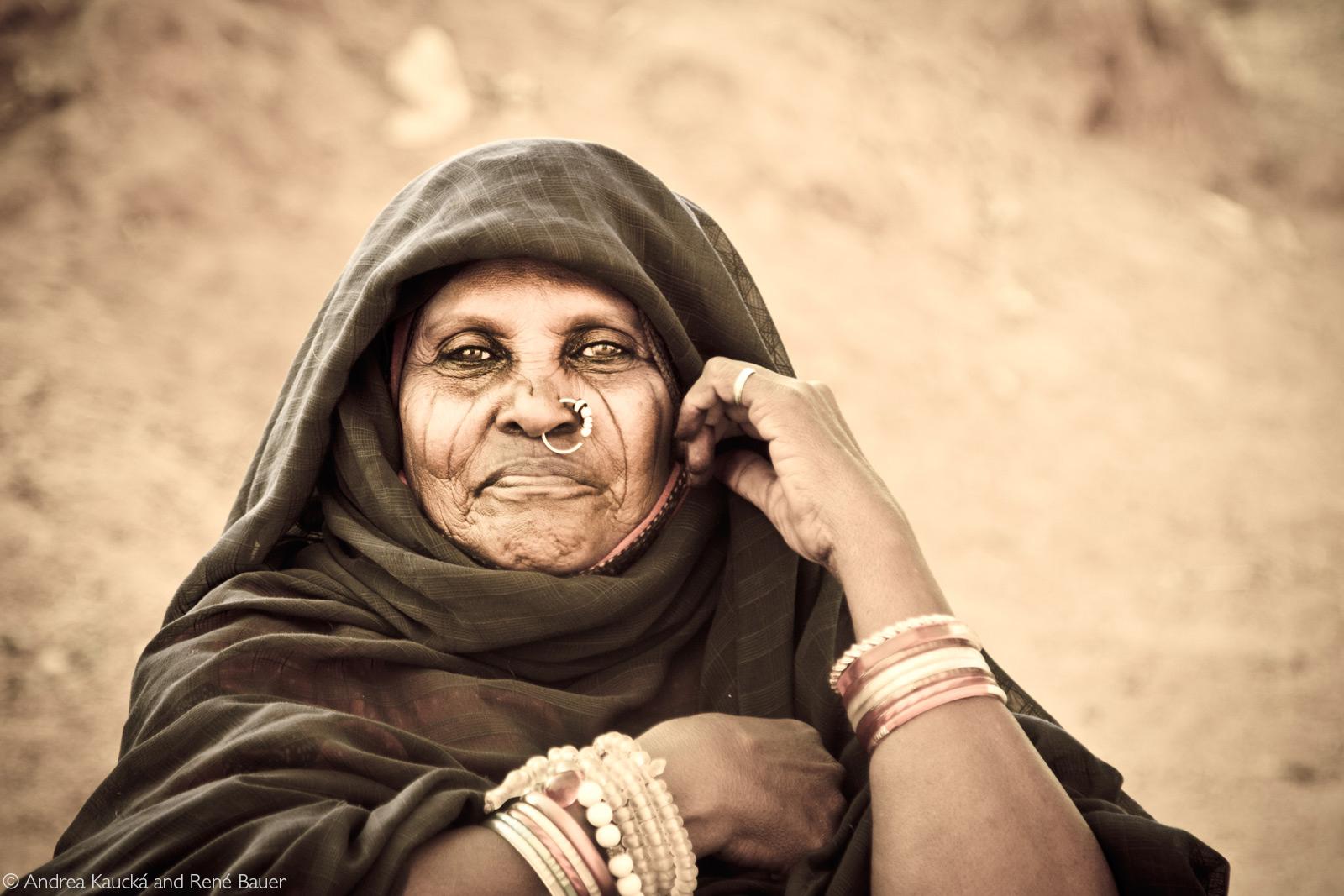 A nomad woman in Kassala, Sudan © Andrea Kaucká and René Bauer