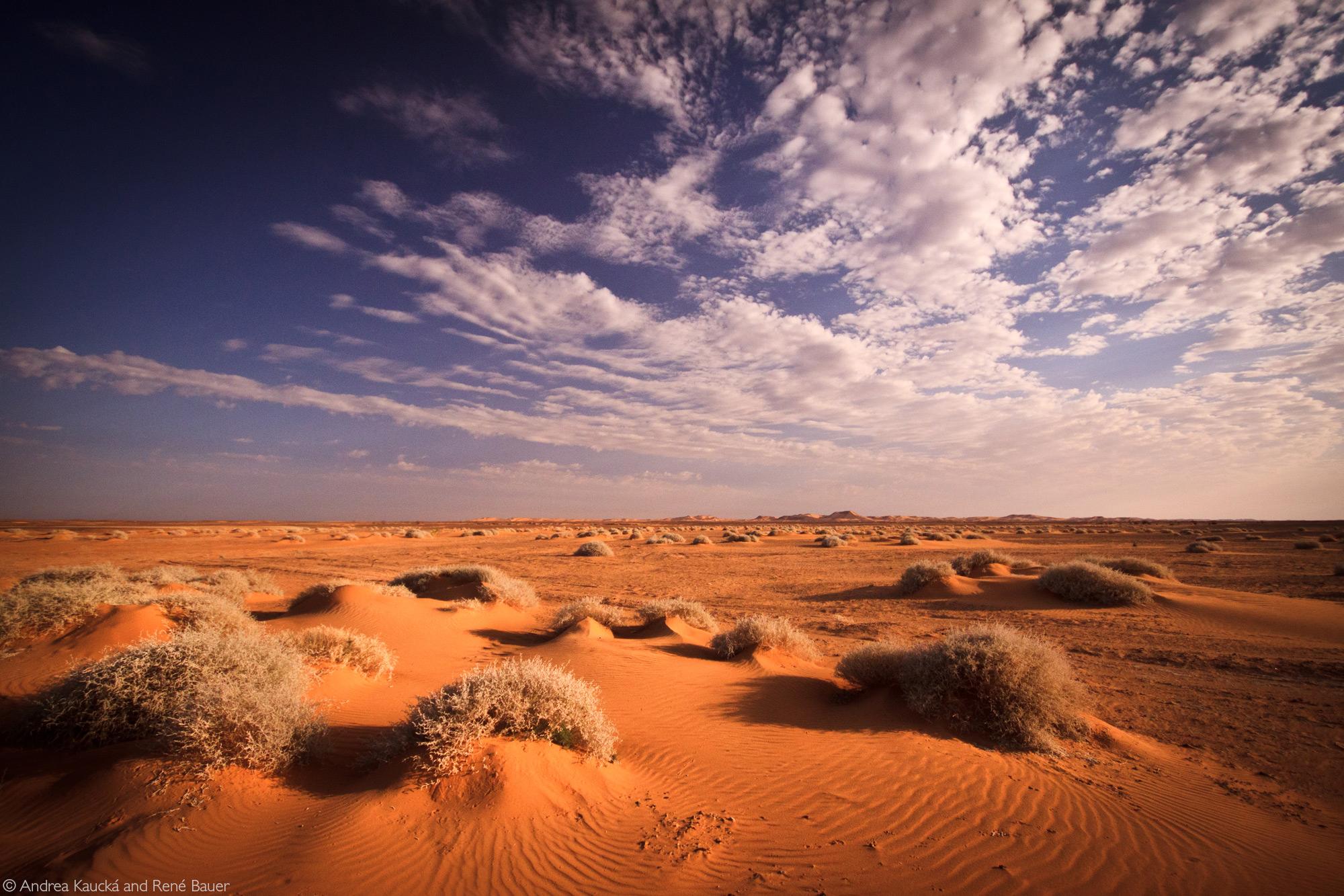 Nubian desert, Sudan © Andrea Kaucká and René Bauer