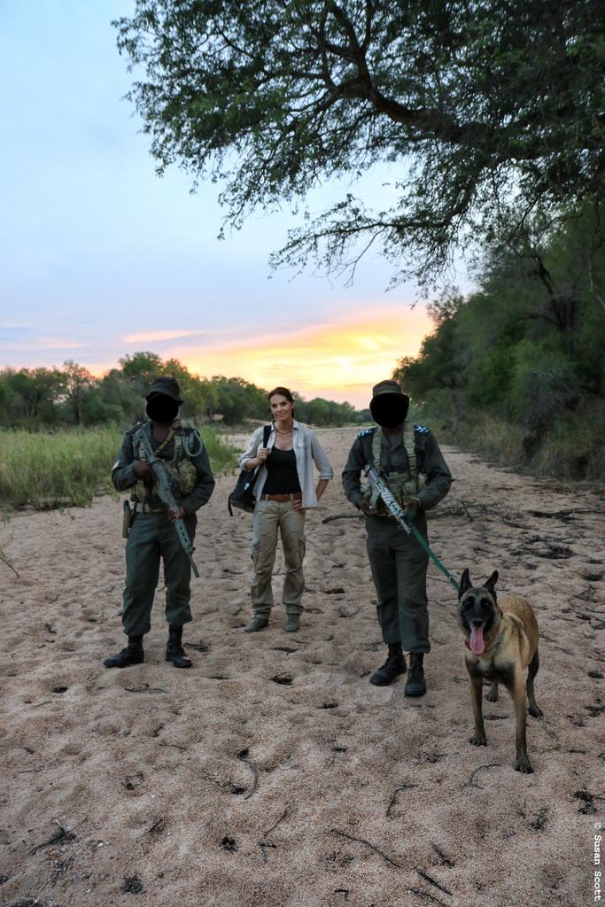 STROOP filmmaker Bonné de Bod on patrol with the Special Ranger Unit inside the Kruger National Park