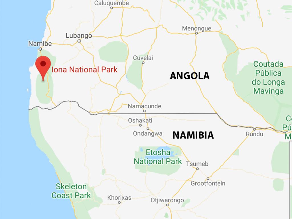Iona National Park, Angola