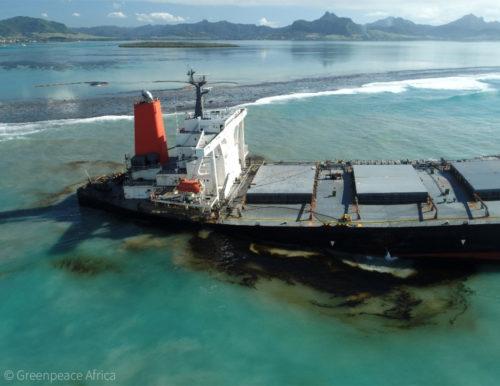 Mauritius oil spill