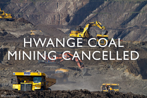 Coal mining in Hwange