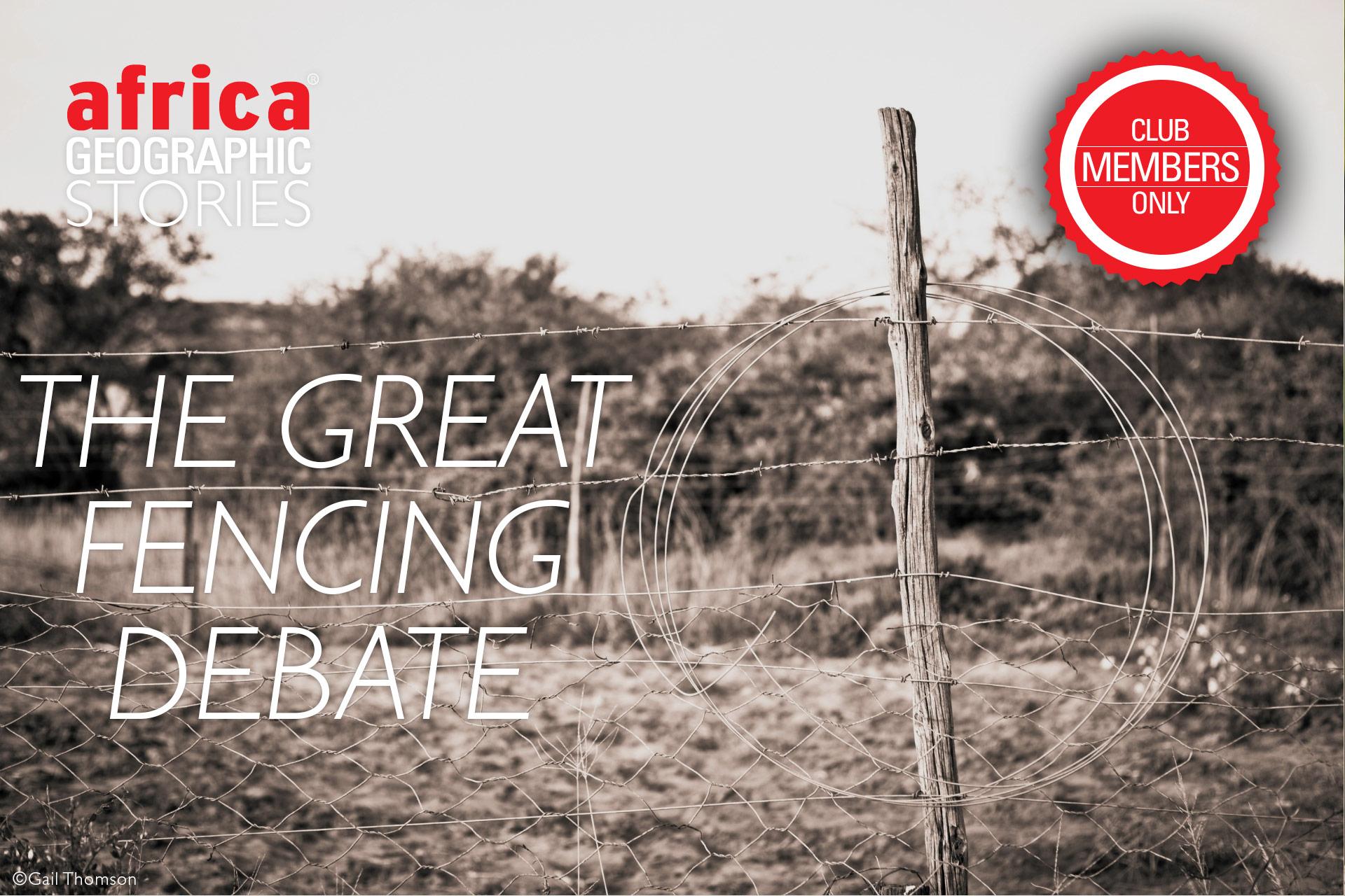 fencing debate